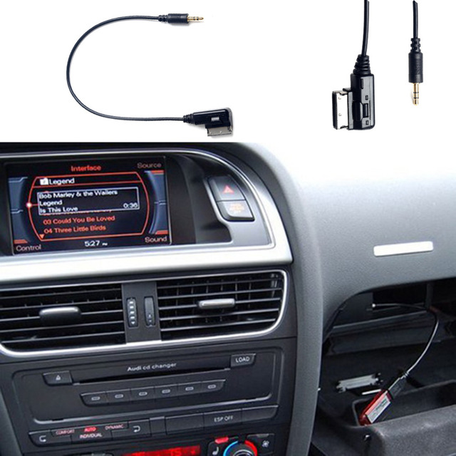 New Fashion USB Audi Music Interface AMI MMI AUX Cable for car A3 A4