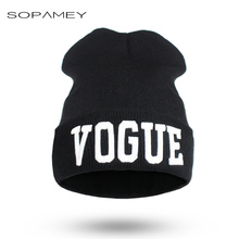 VOGUE bad hair day beanie Cap Winter hats for women knitted bonnet Hip-Hop Hat femme gorros mujer invierno 2017 fashion