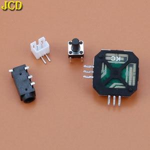 Image 5 - JCD 1 комплект DIY 6 кнопок печатная плата переключатель проводной разъем комплект для Raspberry Pi GBZ для Game Boy GB Zero GBO DMG 001