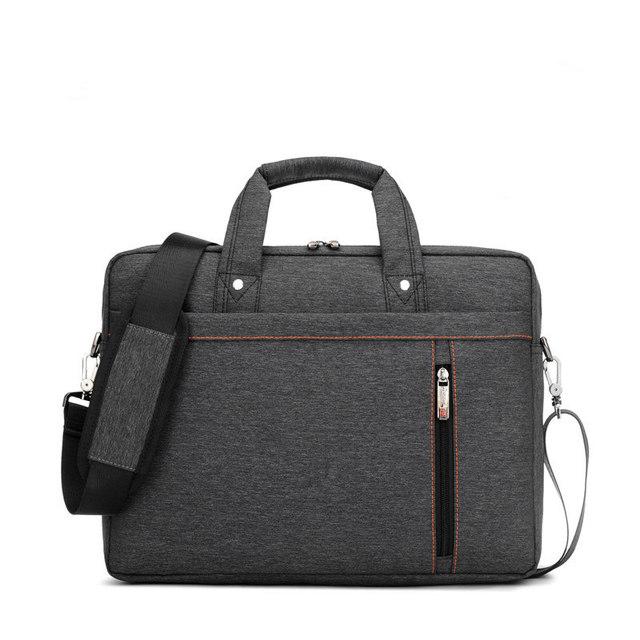 Fábrica de atacado de Negócios bolsa Para Laptop 12 14 15 15.6 17 17.3 polegada de Moda À Prova D' Água de Alta-capacidade Unisex ombro Notebook saco