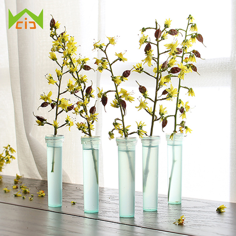 Wcic 2 8 25pcs Floral Water Tube Fresh Flower Rose Pick