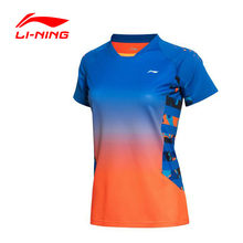 Li-Ning Women's Badminton Series T-Shirt Quick Dry Flexible Breathable LiNing Sports T-Shirt  AAYK128 WTS950