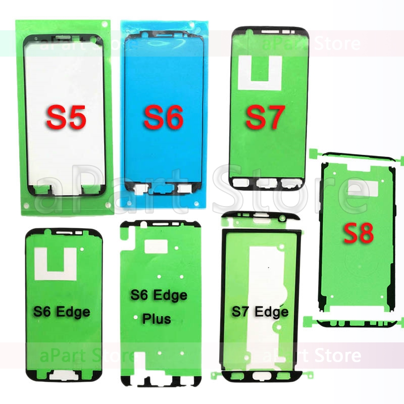 Original Glue Adhesive For Samsung S3 I9300 S4 I9500 S5 G920 S6 S7 Edge S8 Plus Lcd Display Frame Bezel Sticker Replacement