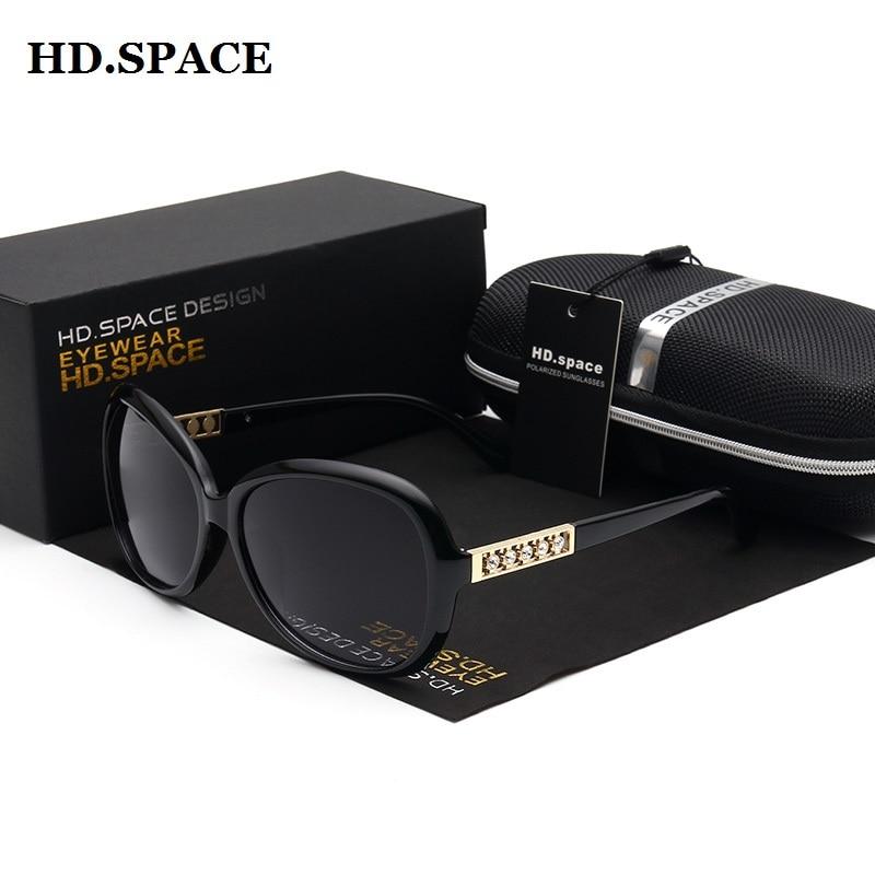 grossistpris solglasögon kvinnor överdimensionerade vintage diamanter kvinnor mode solglasögon nya märke polariserade kvinnliga glasögon