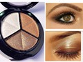 Hot! Makeup Naked Eyehsadow Palette 3 Colors Smoky Cosmetic Set Professional Natural Matte Eye Shadow Palette Make Up Glitter