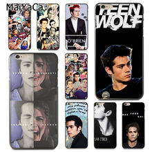 MaiYaCa Dylan O'Brien Teen Wolf Coque Shell Phone Case for iphone 11 Pro 8 7 6 6S Plus X 5 5S SE Cover XS XR XSMAX(China)