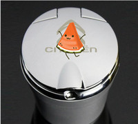 3 Colors High Quality Car Styling Car Ashtray Ash Tray Storage Cup With LED For Citroen