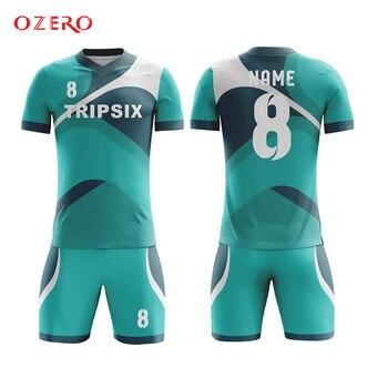 Kinderfußballuniformen   Kinder Schnell Trocknend Fußball Jersey Design Jungen Kind Fußball Kits Sublimation Custom Sport Uniformen Futbol Ausbildung