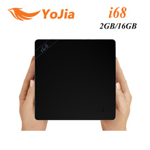 I68 Original Android 5.1 TV Box RK3368 64Bit Octa Core 2G/16G BT4.0 KODI 2.4G/5 GHz Wifi H.265 Gigabit Lan Mini PC Media Player