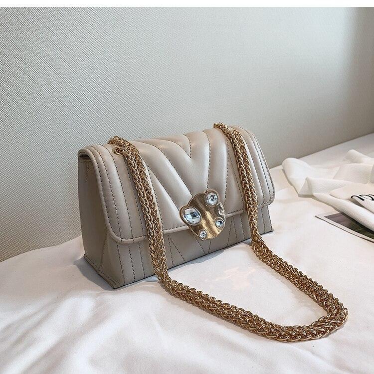 newest fashion bags bag women chain shoulder crossbody bag women's handbags (26)