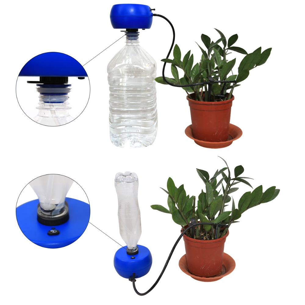 Image 4 - Automatic Drip Irrigation System Pump Controller Watering Kits  with Built in High Quality Membrane Pump Used Indoor#22079Watering  Kits