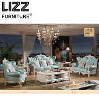 Chesterfield Sofa Royal Furniture Set Living Room Antique Style Sofa Loveseat Armchair Furniture For Home Luxury Sofa Set