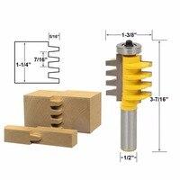 5 16 X 1 2 Shank Rail Stile Glue Joint Router Bit Cone Tenon Woodwork Cutter