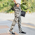 2017 men's casual pants Camouflage pants of the cultivate one's morality bag more gray Pants 001