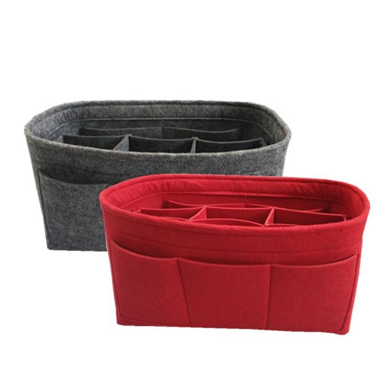 Felt Storage Basket Multifunction Organizer Box Desk Debris Storage Basket Fashion Convinence Holder Jewelry Cosmetic Organizer