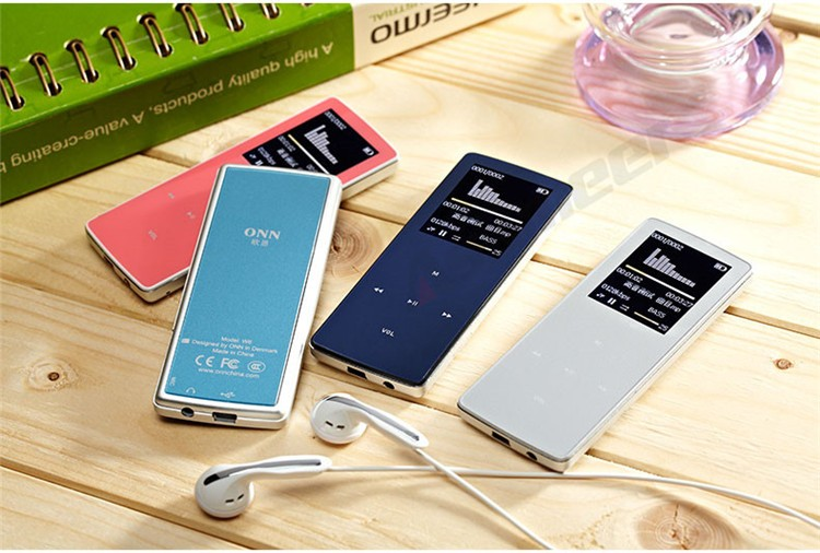 ONN W6 Rechargeable 8GB Bluetooth MP3 Player Mini Sport Mp3 HIFI Lossless Music Media Audio Player with 1.8 TFT Screen Fm Radio (17)