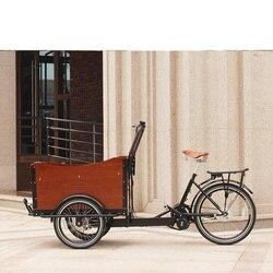 2020 najnowszy zaawansowany technologicznie odkryty holenderski pedał Cargo Bike w cenie sprzedaży