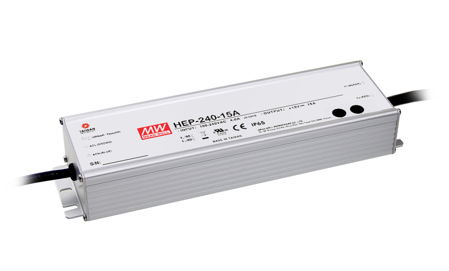 1MEAN WELL original HEP-240-15A 15V 15A meanwell HEP-240 15V 225W Single Output Switching Power Supply [freeshipping 1pcs] mean well original rs 25 15 15v 1 7a meanwell rs 25 25 5w single output switching power supply