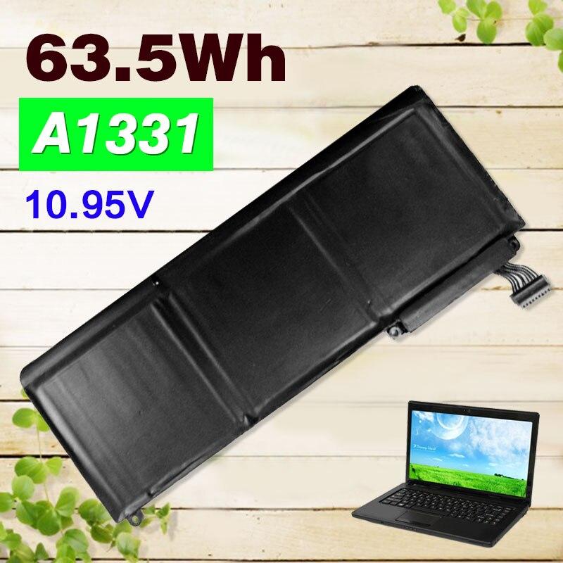 63.5Wh 10.95V Laptop Battery For Apple 020-6580-A 020-6582-A 020-6809-A A1331 A1342 MC207 661-5391 For MacBook 13 Pro 15 Pro 1763.5Wh 10.95V Laptop Battery For Apple 020-6580-A 020-6582-A 020-6809-A A1331 A1342 MC207 661-5391 For MacBook 13 Pro 15 Pro 17