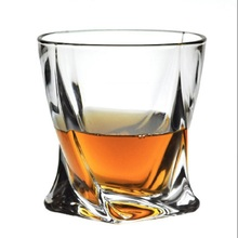Czech imported  whisky glass crystal wine cup beer of