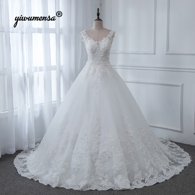 aliexpress : buy vestidos novia backless plus size wedding dress