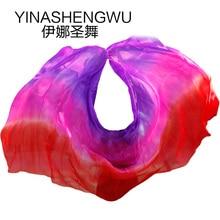 Veils 100% Silk High Quality Dance veils Handmade Natural Belly  Props