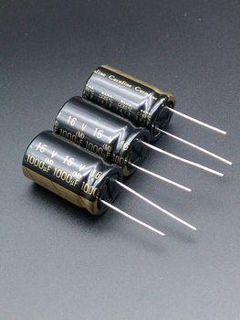 цена на 10pcs/30pcs The new spot according to ELNA ROA Cerafine 1000uF/16V origl authentic audio electrolytic capacitors free shipping
