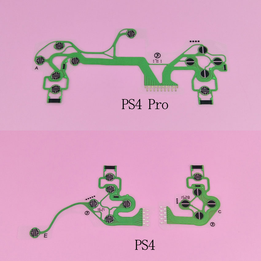 yuxi-new-replacement-parts-for-sony-font-b-playstation-b-font-4-ps4-ps4-pro-controller-handset-membrane-conductive-film-pcb-circuit