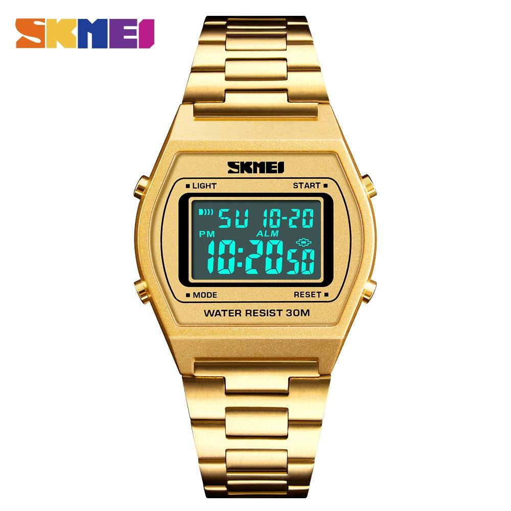 Waterproof Alarm Clock Wristwatch Reloj Hombre Men Backlight Watch