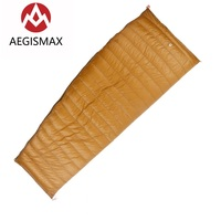 AEGISMAX Outdoor Envelope 95 White Goose Down Sleeping Bag Winter Camping Hiking Equipment Gear