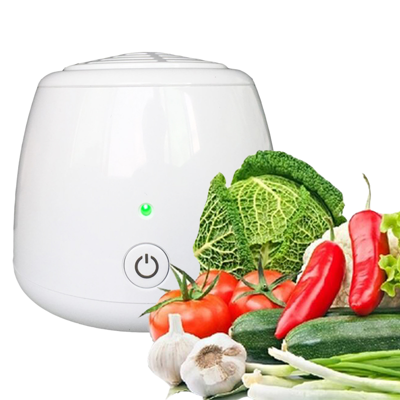 Air Cleaner Sterilizer Ozone Generator Ozonator ionizer O3 Timer Purifiers Freezer Deodorizer For Vegetable Fruit Fresh