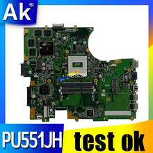 PU551JH Motherboard Laptop UNTUK ASUS PU551JH PU551J PU551 Uji Asli Mainboard N15P-Q1 Quadro K1100M 2GB Kartu Video(China)