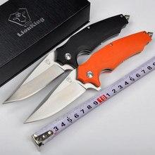 Высокое Качество 9Cr18Mov лезвие G10 ручка Шариковые подшипники системы складной нож выживания ножи открытый отдых на природе инструменты