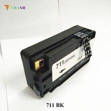 Vilaxh 711 Compatible Blcak Ink Cartridge Replacement for HP XL 711XL Designjet T120 T520 Printer