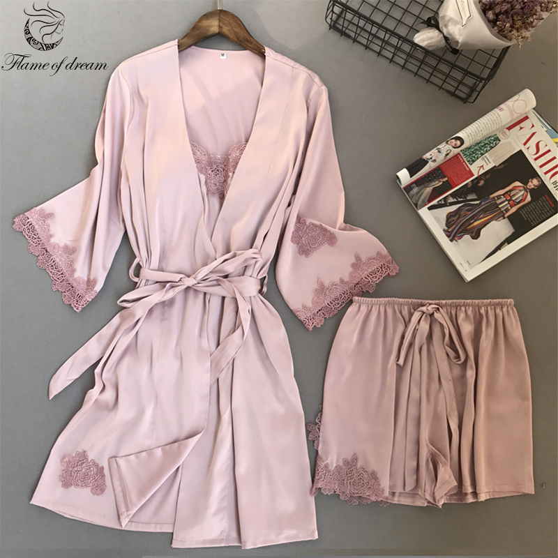 2018 New Womens Pyjamas Sleepwear Female   Pajama   Cute Summer   Pajamas     Set   8449