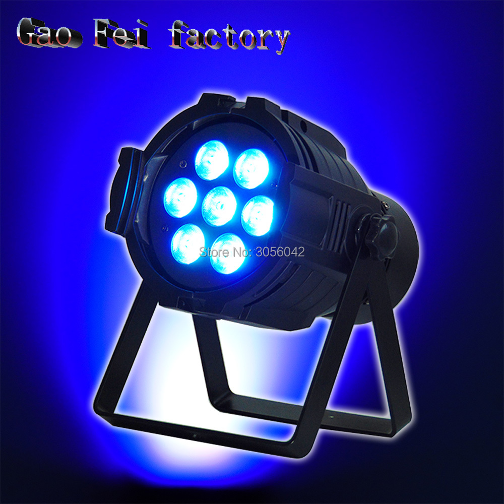 China LED par stage light rgbw 7X12W disco party lights wash dmx Dj effect controller Dj Equipment projector disco led par lights 54x3w dj par led rgbw wash disco light dmx controller effect home party dj bar strobe dimming effect projector