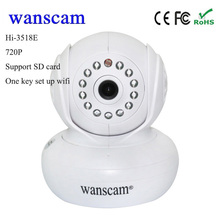 Hot Wanscam HW0021 P2P 720P wifi CCTV camera Wireless office home wireless IP security Camera baby