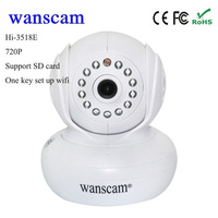 Hot Wanscam HW0036 P2P 720P Mini Wifi CCTV Camera Wireless Office Home Wireless IP Security Camera