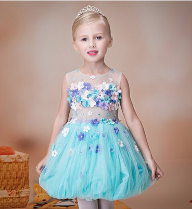 Children dress girls summer dress princess dress girls dress sixty-one dance performances tutu светильник потолочный odeon light palmira 2677 8c