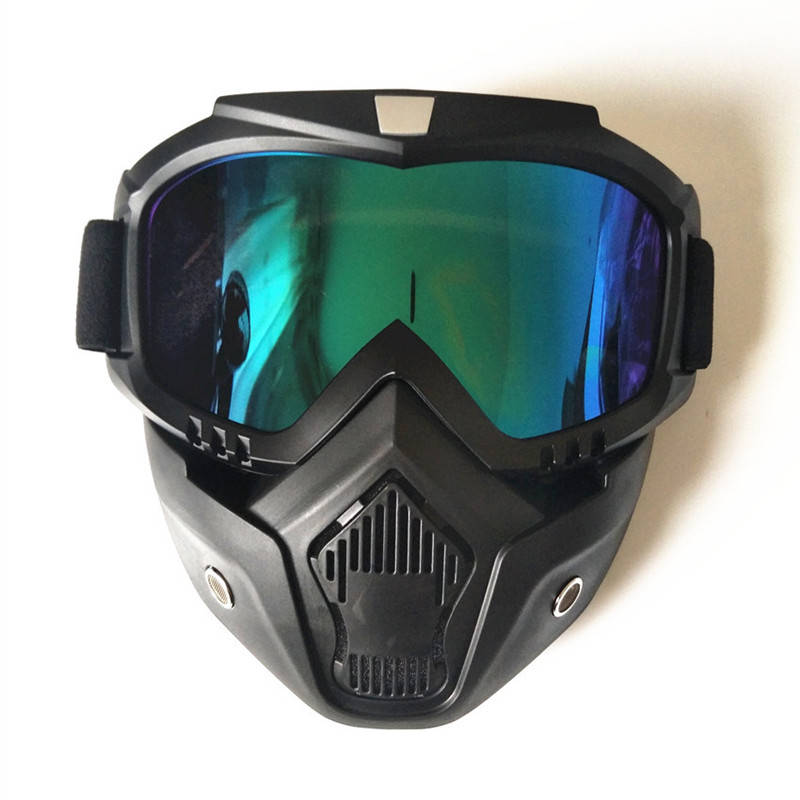 bb182482c3b 2019 Winter Sport Ski Goggle Face Mask Removable Dust Respiration ...
