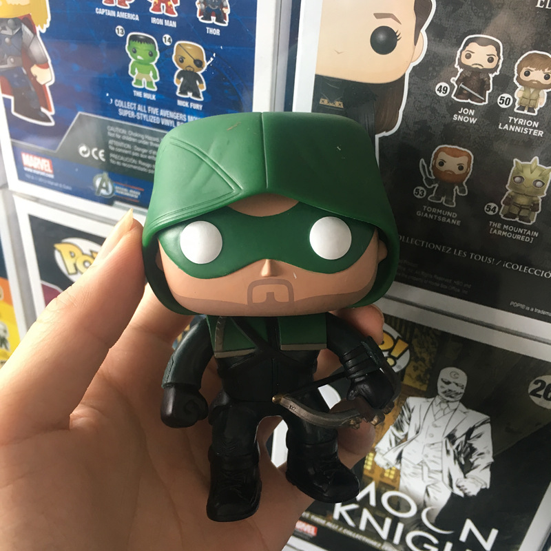 Funko POP Secondhand Imperfect The Arrow Oliver Jonas Queen Collectible Figure Model font b Toy b