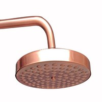 8 ( inch ) Vintage Red Copper Antique Brass Round Shape Bath Rainfall Shower head / Bathroom Accessory (Standard 1/2) ash032