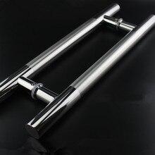 Витрина 1200 мм Дверь Тянуть Ручки Из Нержавеющей Стали 47-1/5 дюймов Для Входа/Стеклянной Двери