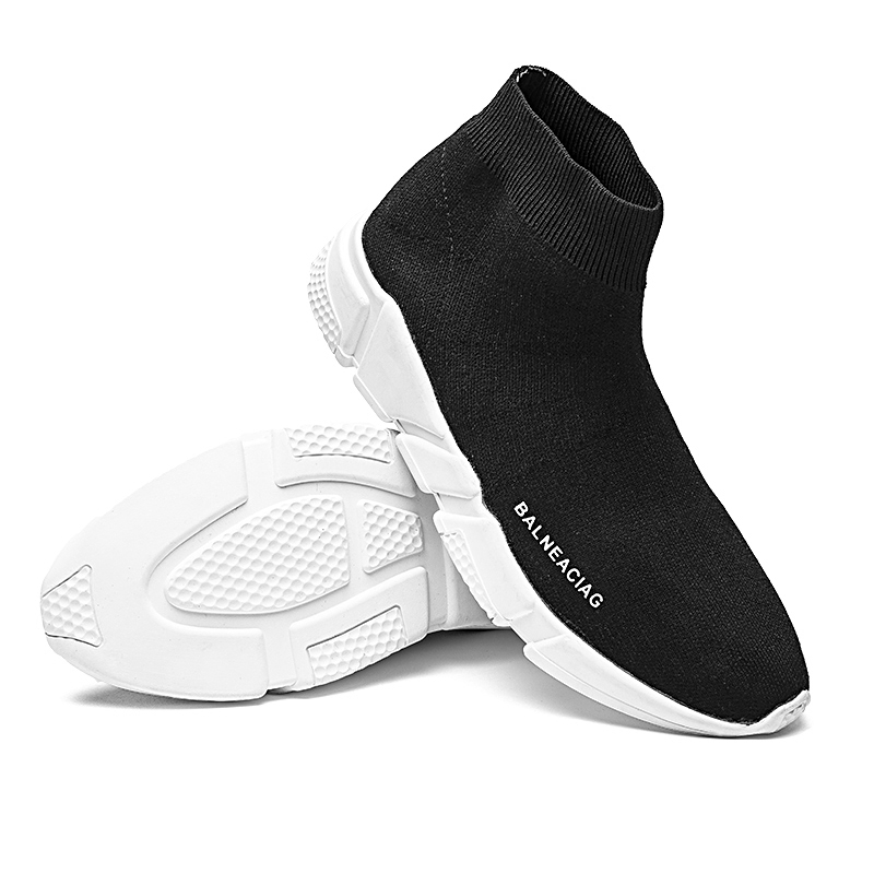 Новое поступление 2017 года сетки спортивные Спортивная обувь Для мужчин бренда Кроссовки Для мужчин открытый черный тренажерный зал Обувь Д...