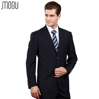 MOGU Pure Color Men's Suits 2017 New High Quality Fashion Two Piece Solid Formal Suits For Men Slim Fit Asian Size 4XL Men Suits