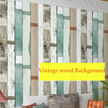 Old Wood  wood Grain Vinyl  Backgorund Mural Wallpaper 3D  Roll papel de parede Vintage PVC	DZK04 vinyl pvc wood wallpaper roll 3d effect retro decorative cork plaid wine box backdrop wallpaper papel de parede madeira