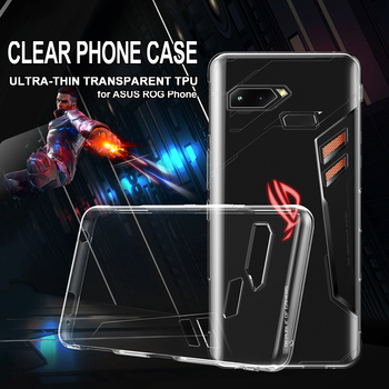 For Asus ROG Phone Case TPU Soft Slim Silicon Transparent Clear rog gaming phone Lite Cover Bumper Shockproof Protective Casings резак для щеток стеклоочистителей