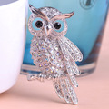 Grande pássaro Owls Vintage broches antiguidades Bouquet Owle Hijab Pin Up Designer conjugal espeto cachecol clipes Jewellerys flor de Lis