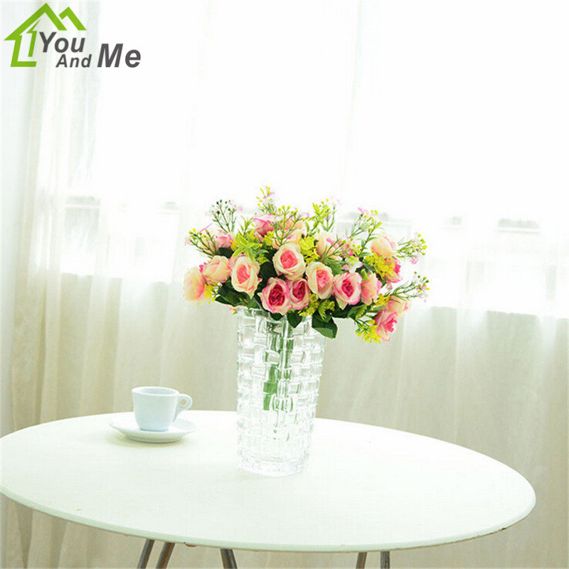 5 Branches Artificial Flower Vivid Mini Multi Color Peony Silk Flower For Home Party Wedding Decorative Flower