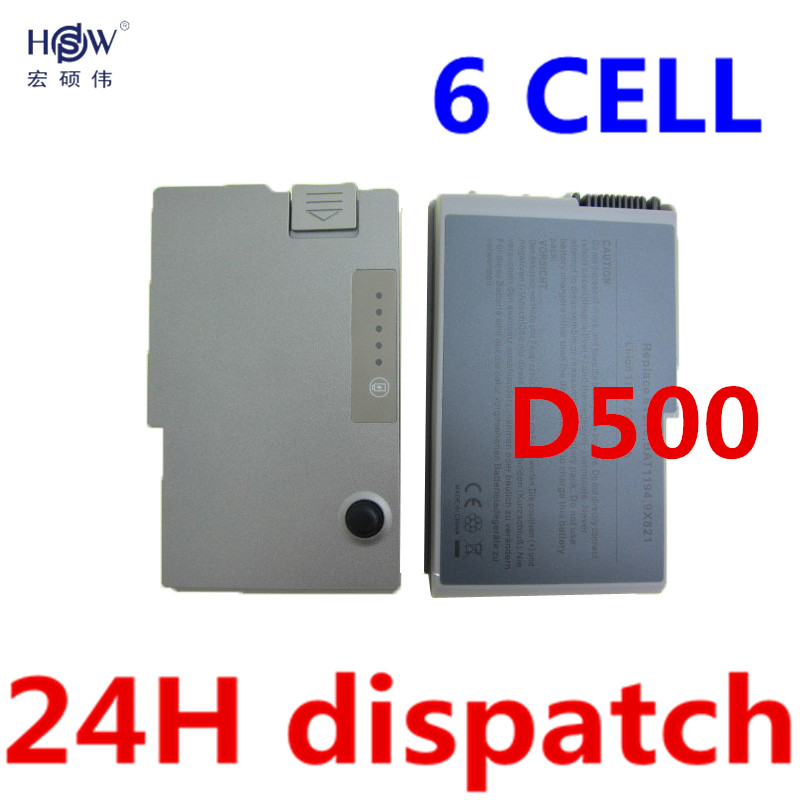 HSW 6Cell Laptop Battery For Dell lnspiron 510 600m Latitude D500 D505 D510 D520 D610 D600 D530 6Y270 U1544 310-5195 C1295 4P894 used look like new black laptop notebook keyboard 0pf236 nsk d5k01 9j n6782 k01 for dell latitude d520 d530 us